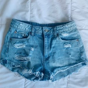 H&M Divided Denim Shorts Size 8